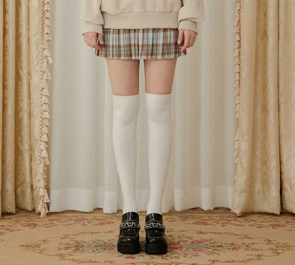 Short Tartan Other Plaid Patterns Casual Style