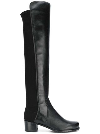 Blended Fabrics Plain Party Style Elegant Style Boots Boots
