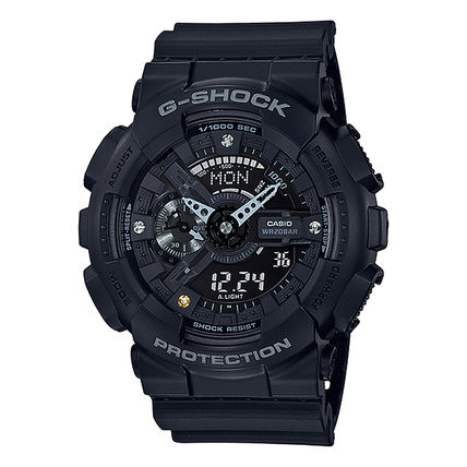 CASIO Casual Style Unisex Street Style Silicon Round Party Style
