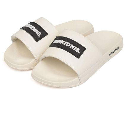 Unisex Street Style Sport Sandals Shower Shoes Logo