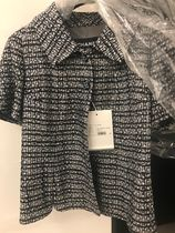 CHANEL Tweed Blended Fabrics Medium Party Style Office Style