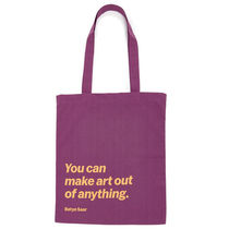 MoMA Casual Style Unisex Street Style A4 Plain Office Style Totes