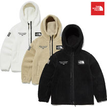 THE NORTH FACE SNOW CITY Short Unisex Blended Fabrics Street Style Logo