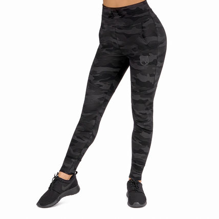 Camouflage Casual Style Blended Fabrics Street Style Cotton