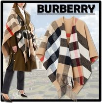 Burberry Street Style Ponchos & Capes
