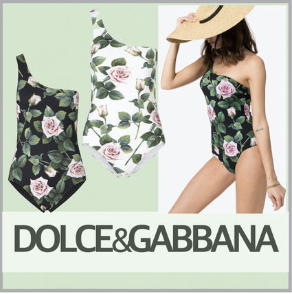 Dolce & Gabbana Flower Patterns Swimwear