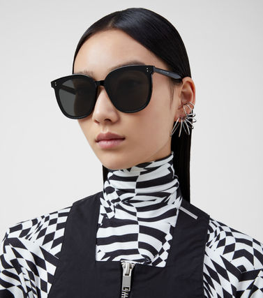 Gentle Monster Unisex Street Style Round Oversized Sunglasses