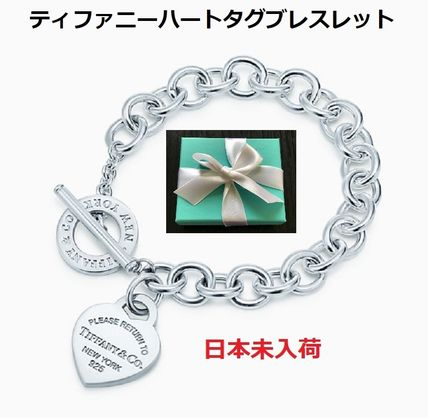 Tiffany & Co RETURN TO TIFFANY Casual Style Chain Silver Elegant Style Fine