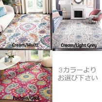 SAFAVIEH Flower Patterns Morroccan Style Kitchen Rugs