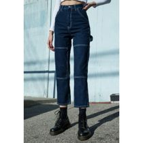 Brandy Melville Casual Style Denim Street Style Plain Cotton Long