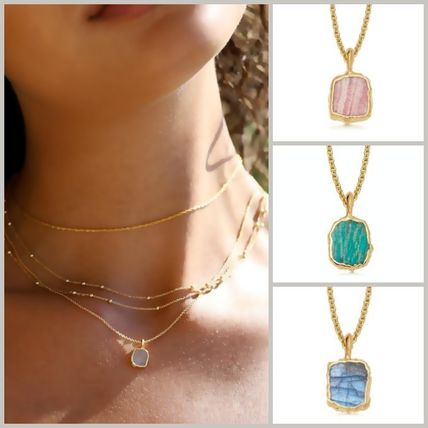 Costume Jewelry Casual Style Chain 18K Gold Elegant Style