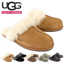 UGG Australia SCUFFETTE Casual Style Sheepskin Suede Slippers Shoes