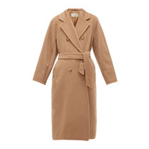 MaxMara MADAME Casual Style Plain Long Office Style Formal Style