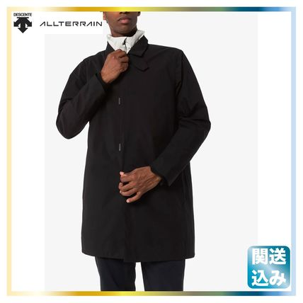 Nylon Plain Long Coats
