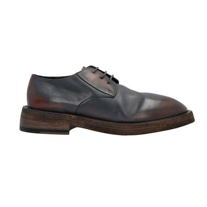Plain Toe Leather Oxfords