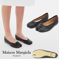 Maison Margiela Casual Style Street Style Plain Leather Party Style