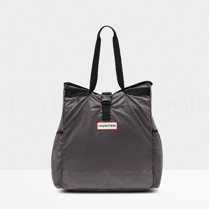 HUNTER Totes Casual Style Nylon Street Style Bag in Bag A4 Office Style 3