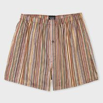 Paul Smith Stripes Street Style Cotton Trunks & Boxers