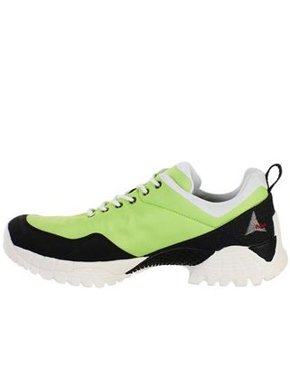 Street Style Neon Color Sneakers