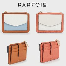 PARFOIS Other Animal Patterns Small Wallet Logo Card Holders