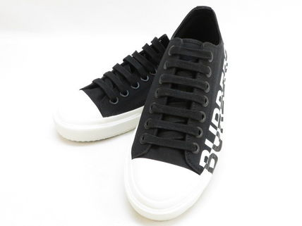 Burberry BURBERRY Two-tone cotton sneakers #8015795