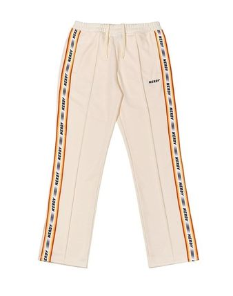 Casual Style Street Style Logo Pants