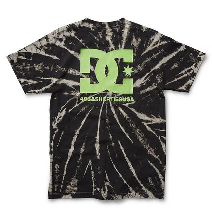 DC Shoes Crew Neck Crew Neck Pullovers Street Style Tie-dye Collaboration 3