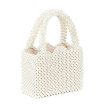 HIGH CHEEKS Plain Party Style Elegant Style Totes