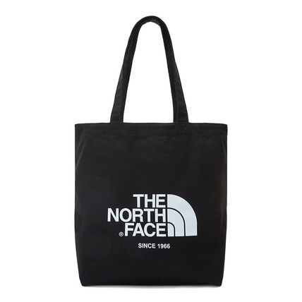 THE NORTH FACE WHITE LABEL Casual Style Unisex Street Style Plain Logo Totes