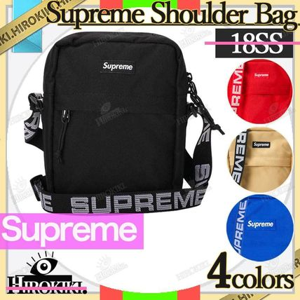 Supreme Small Shoulder Bag Logo Street Style