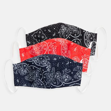 Paisley Casual Style Unisex Cotton Accessories