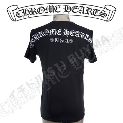 CHROME HEARTS More T-Shirts Street Style Graphic Prints T-Shirts 2