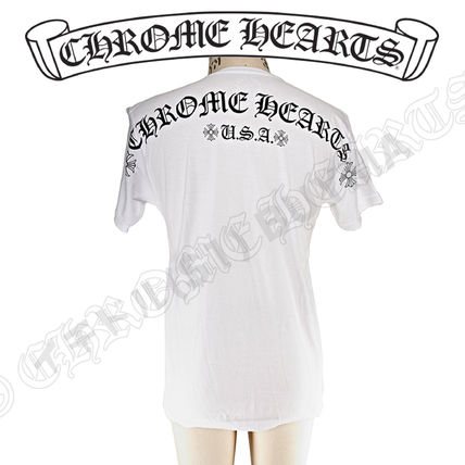 CHROME HEARTS More T-Shirts Street Style Graphic Prints T-Shirts 3