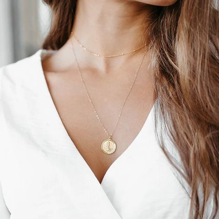 Casual Style Coin Party Style Office Style 14K Gold