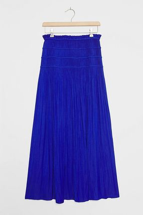 Casual Style Maxi Plain Long Party Style Elegant Style
