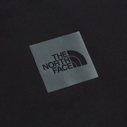 THE NORTH FACE Sweatshirts Crew Neck Pullovers Unisex Street Style Long Sleeves Cotton 5
