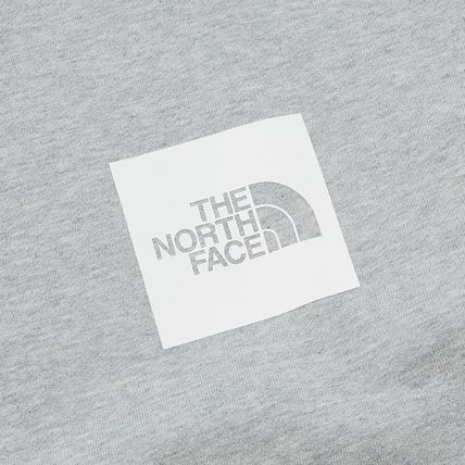 THE NORTH FACE Sweatshirts Crew Neck Pullovers Unisex Street Style Long Sleeves Cotton 11
