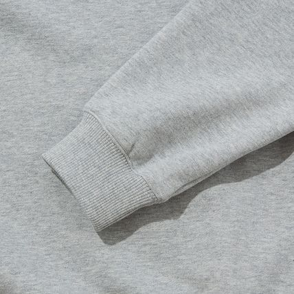 THE NORTH FACE Sweatshirts Crew Neck Pullovers Unisex Street Style Long Sleeves Cotton 12