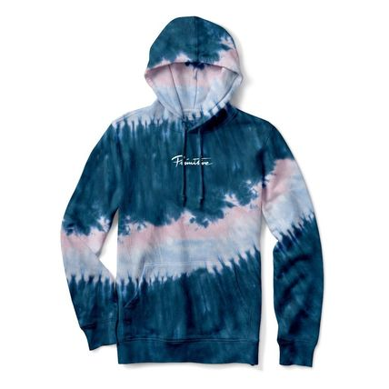 Pullovers Sweat Street Style Tie-dye Collaboration