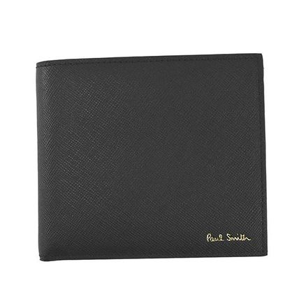 Plain Leather Folding Wallet Logo Folding Wallets