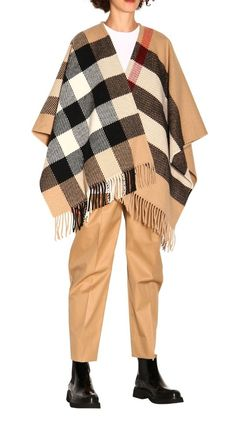Burberry Oversized Ponchos & Capes