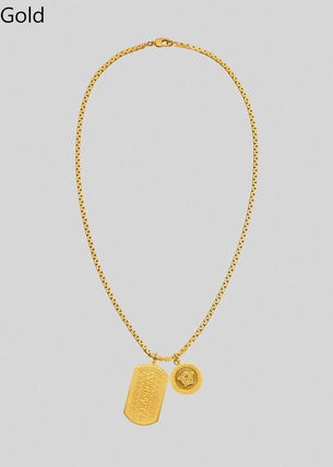 VERSACE Chain Logo Necklaces & Chokers
