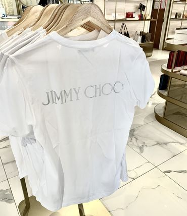 Jimmy Choo Plain Logo T-Shirts