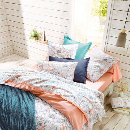 Flower Patterns Round Pillowcases Fitted Sheets