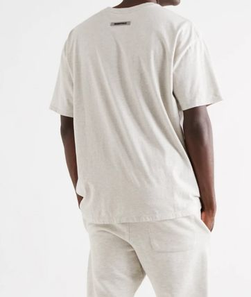 FEAR OF GOD ESSENTIALS Street Style Short Sleeves Oversized T-Shirts