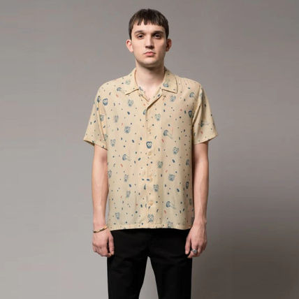 Surf Style Short Sleeves Shirts