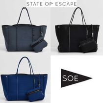 State of Escape Unisex A4 Plain Handmade Totes
