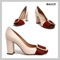 BALLY Casual Style Leather Party Style Office Style Elegant Style
