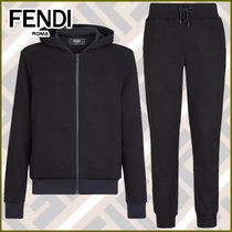 FENDI Street Style Co-ord Activewear Tops