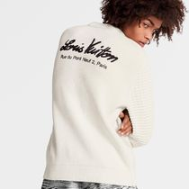 Louis Vuitton Sweaters Mix Stitches Crewneck With Back Embroidery 4